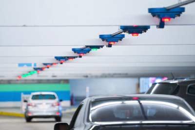 System sygnalizacji zajętości parkingu