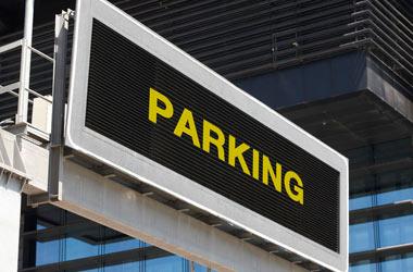 wyświetlacze parkingowe