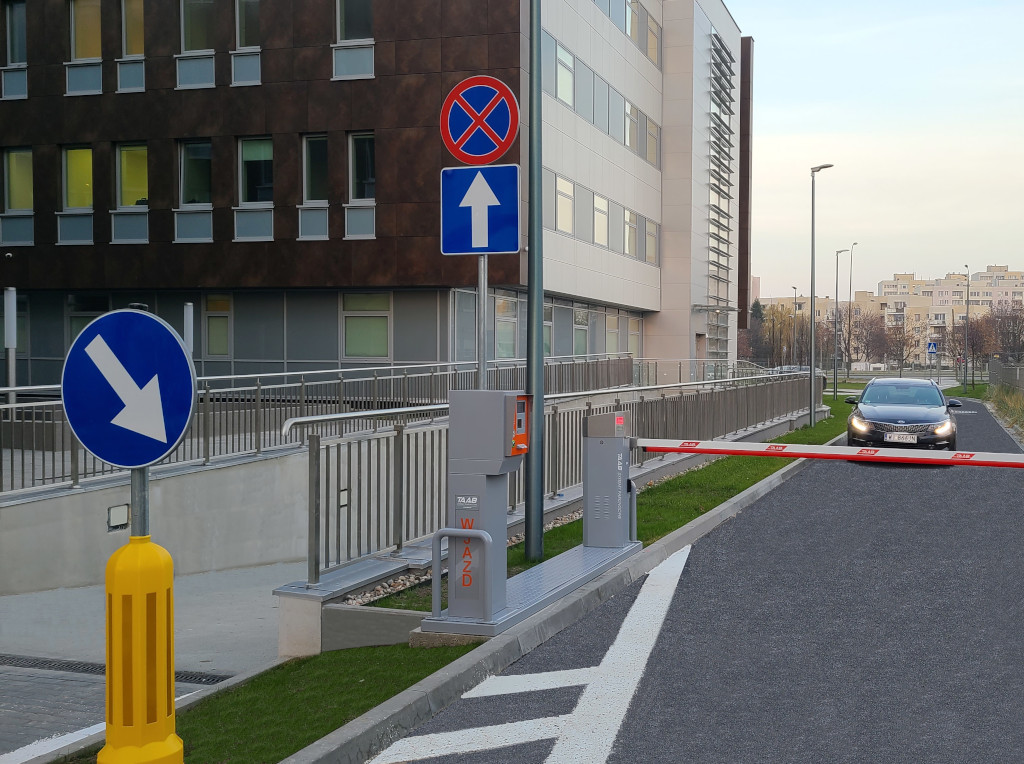 szpital południowy parking